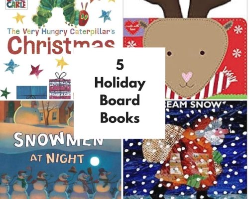 5-Must Have Holiday Board Books