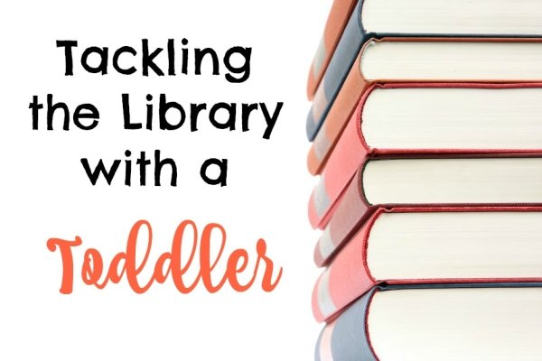 Tackling the Library with a Toddler