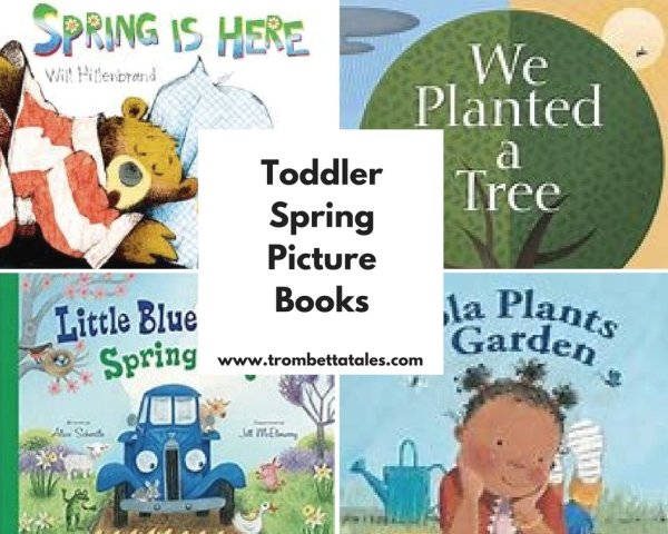 Must- Have Spring Picture Books for Toddlers and Spring Printable