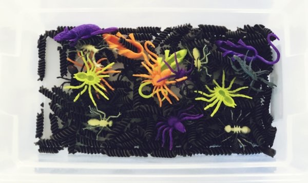Creepy Crawlers Sensory Bin
