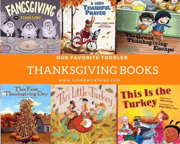 Best Toddler Thanksgiving Books