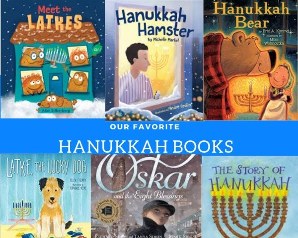 Our Favorite Hanukkah Books