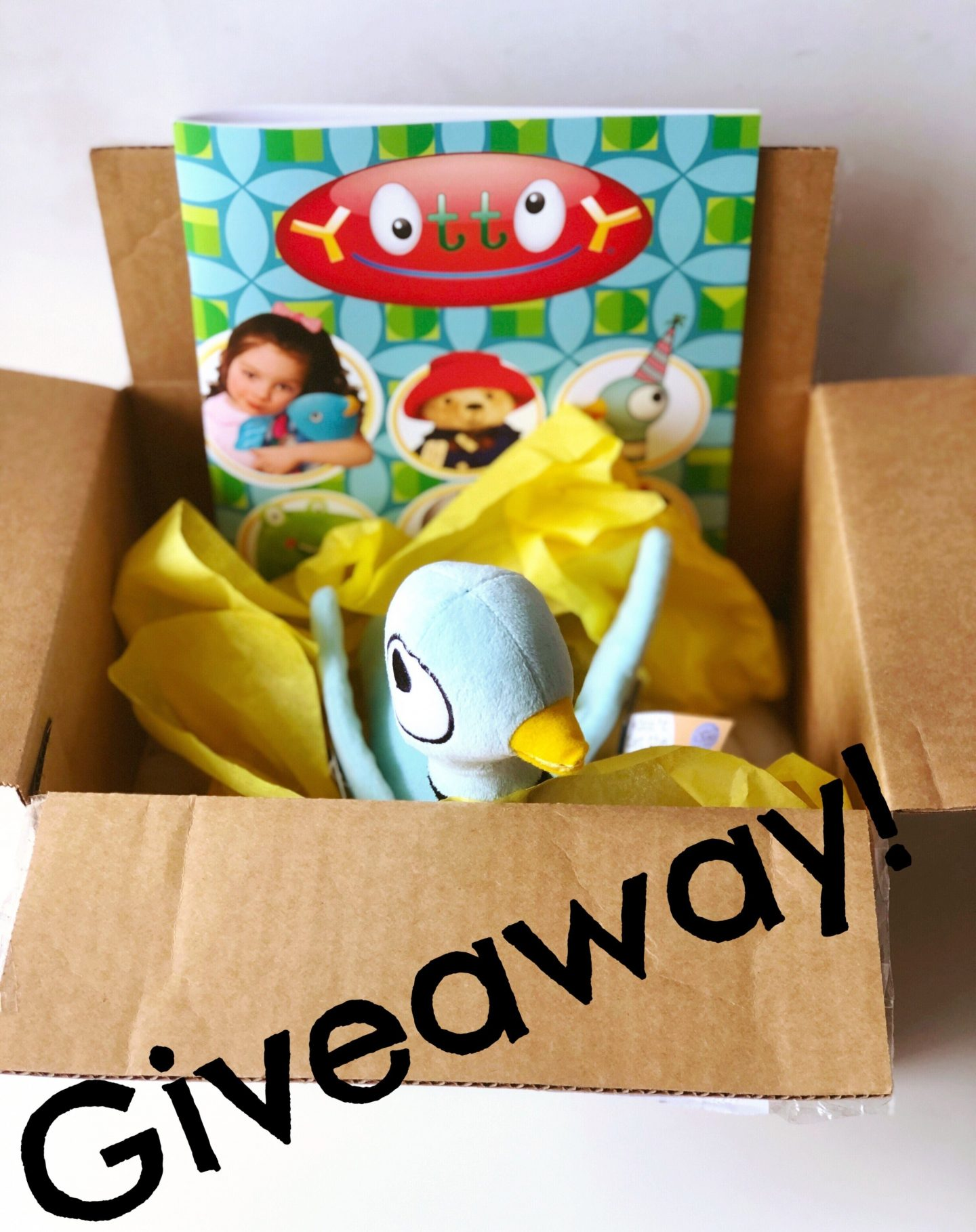 YOTTOY Productions, Inc. and Mo Willem's Don't Let the Pigeon Drive the Bus Instagram Giveaway