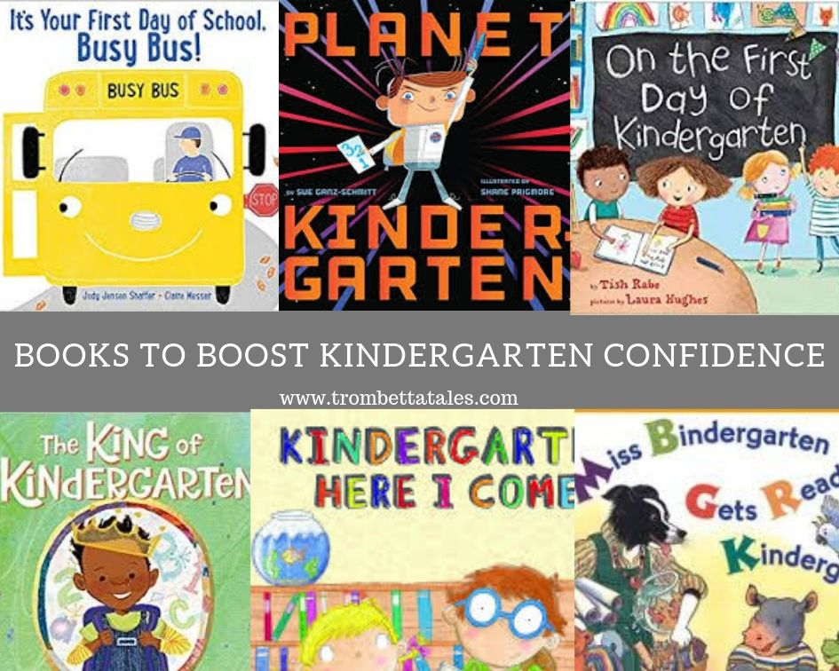 Books to Boost Kindergarten Confidence